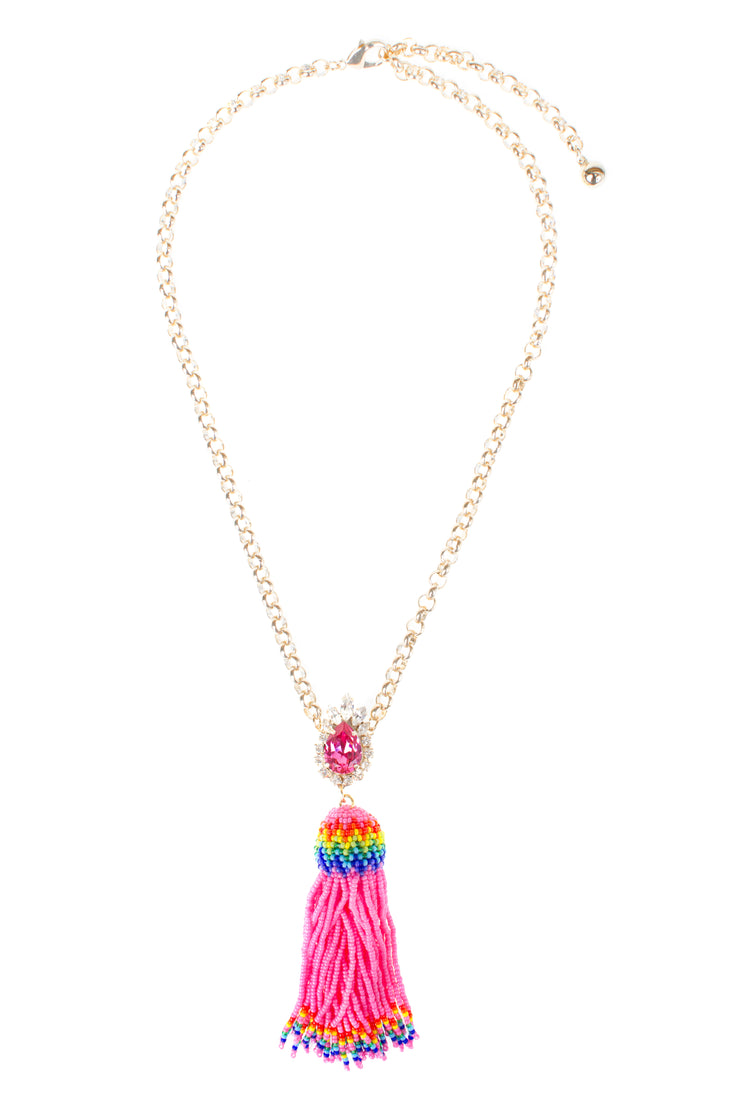 TOTEM PINK NECKLACE