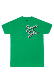 SUPERSTAR GLOW GREEN T.SHIRT
