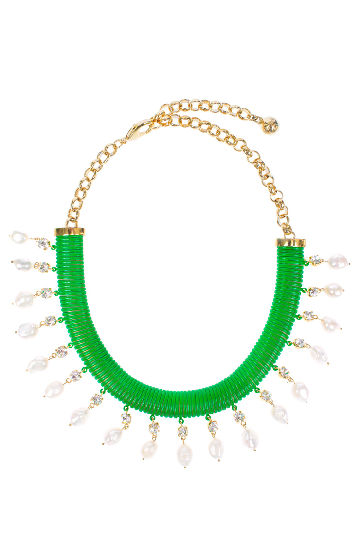 TUBOGAZ GREEN NECKLACE
