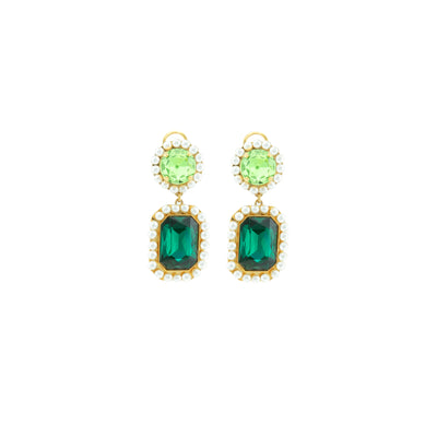 VERSAILLES GREEN EARRINGS