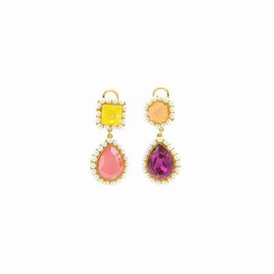 VERSAILLES PINK EARRINGS