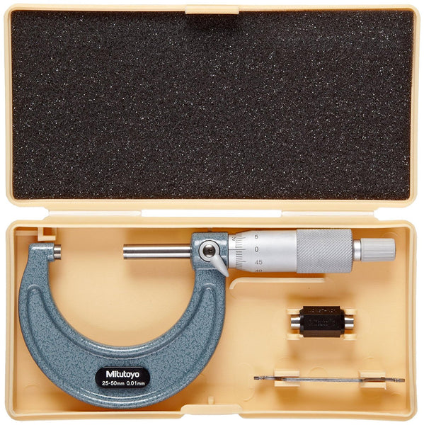 Mitutoyo Outside Micrometer 103-138(25-50 X 0.01)