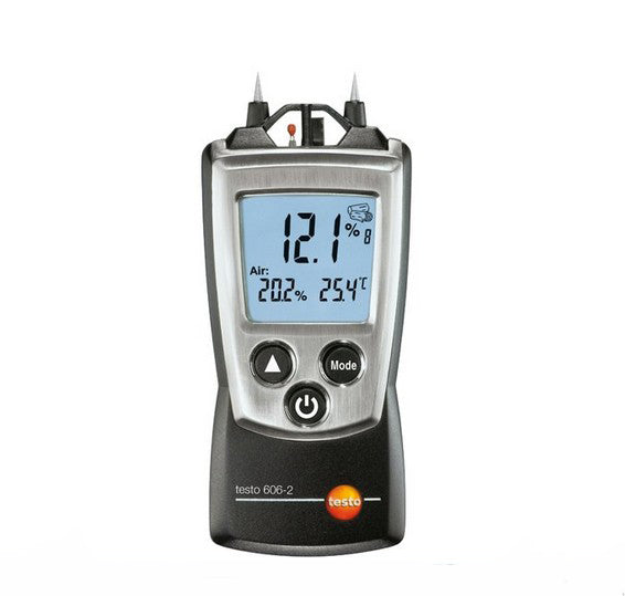 Testo 606-2 Wood&Material Moisture Meter Temp Humidity Test NTC air thermometer