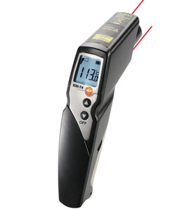 Testo 830-T4 (0560 8314) Infrared Radiation Thermometer Alarm 2-point laser