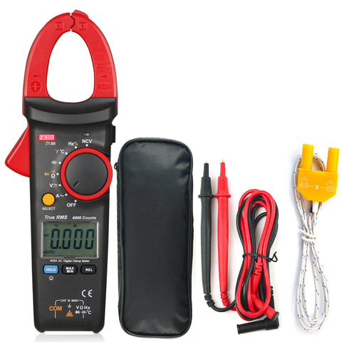ZIBOO ZB213B 400A AC Current Measurements True RMS Digital Clamp Meters