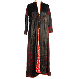 Silk Embroidered Syrian Coat