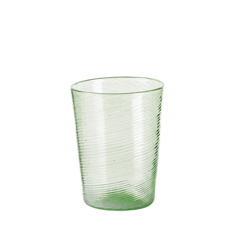 Rigadin Wine Glass, Green