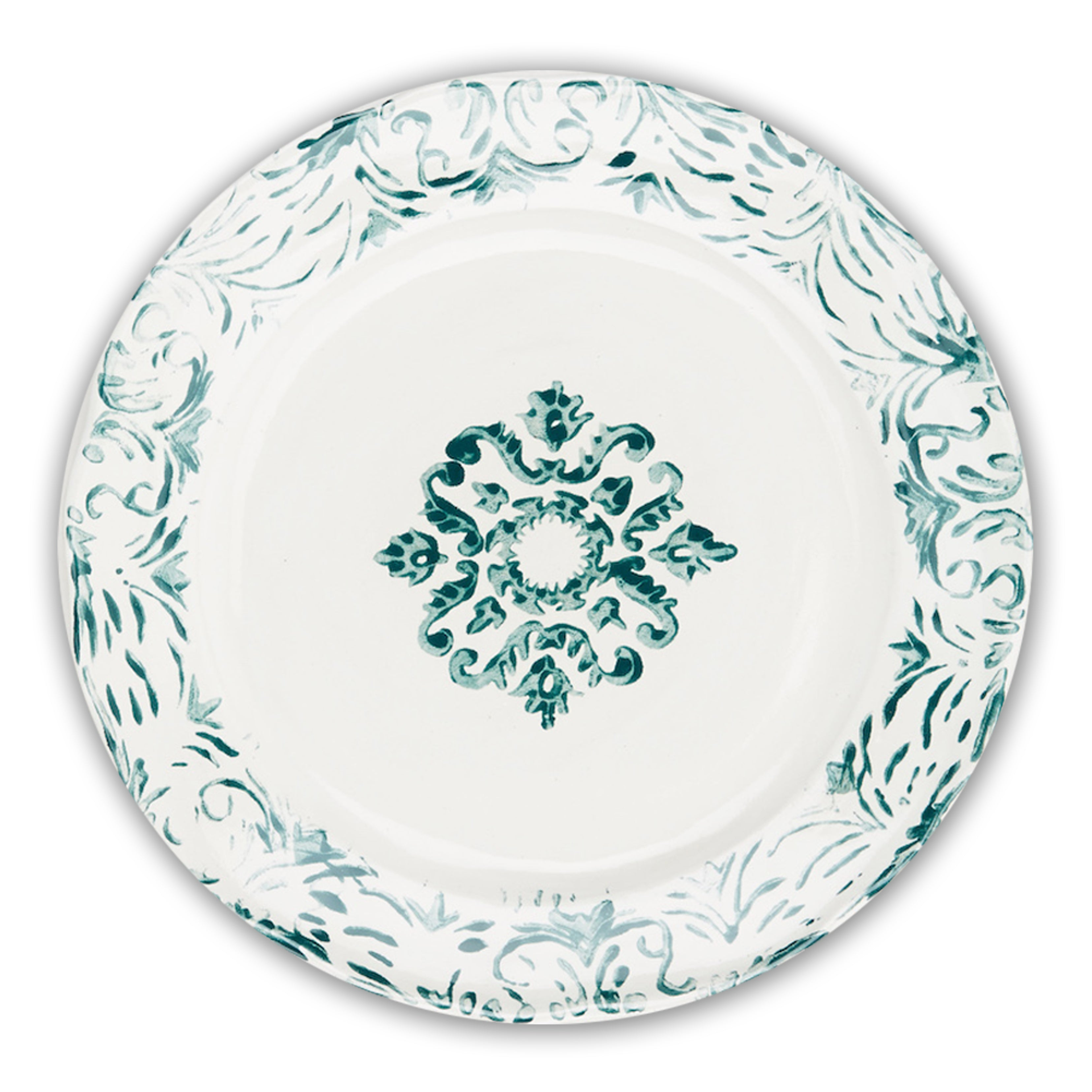 """Floral"" Dinner Plate"