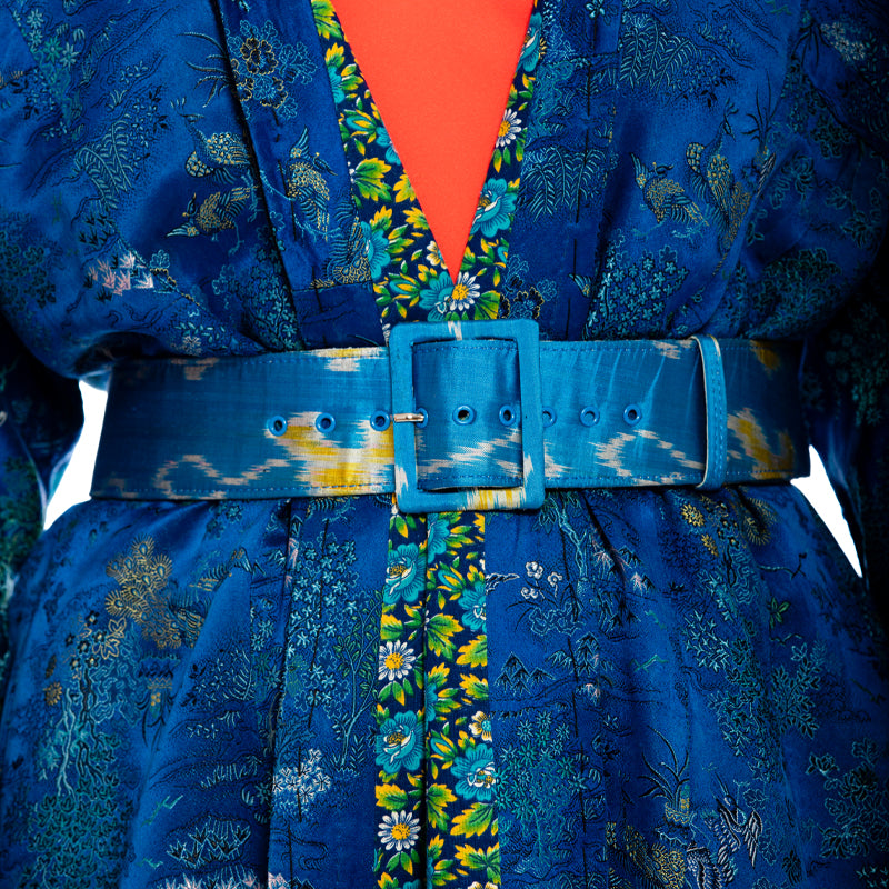Ikat Blue Belt