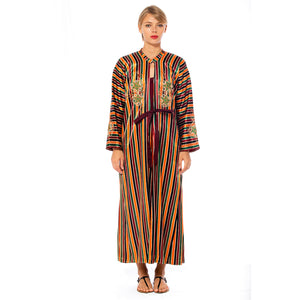 Load image into Gallery viewer, Striped Caftan