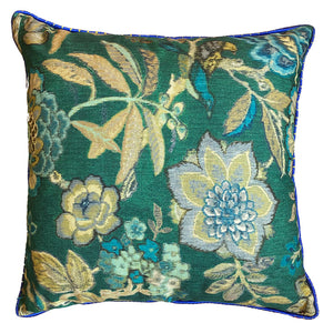 Load image into Gallery viewer, Peacock Suzani Cushion