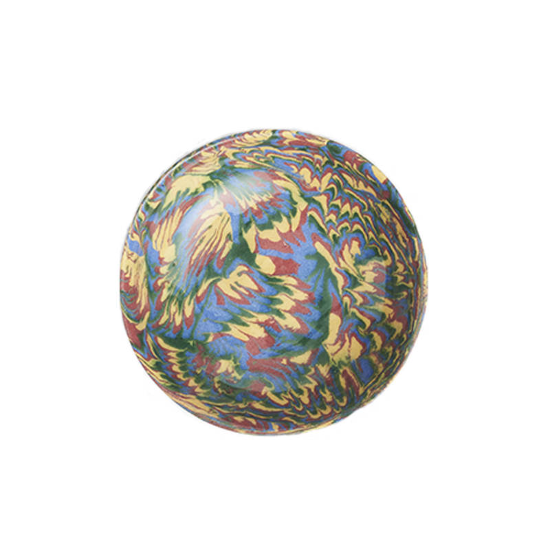 Marbleized Round Bowl
