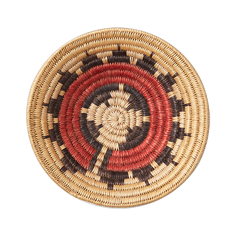 Navajo Red Wedding Basket Medium