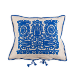 Blue Transylvanian Cushion