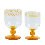 Jasmine Water Glass Yellow
