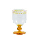 Jasmine Wine Glass Yellow