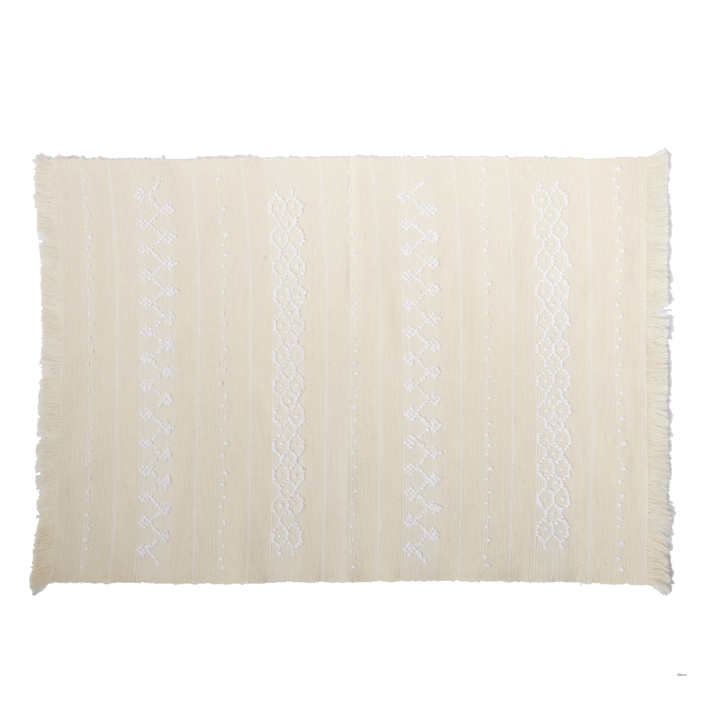 White Hive Handwoven Placemat