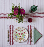 Giosi Red and White Table Linen