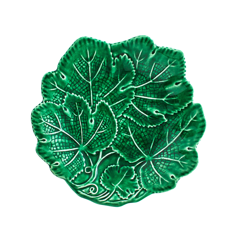 Load image into Gallery viewer, Vine Leaf Fruit Plate