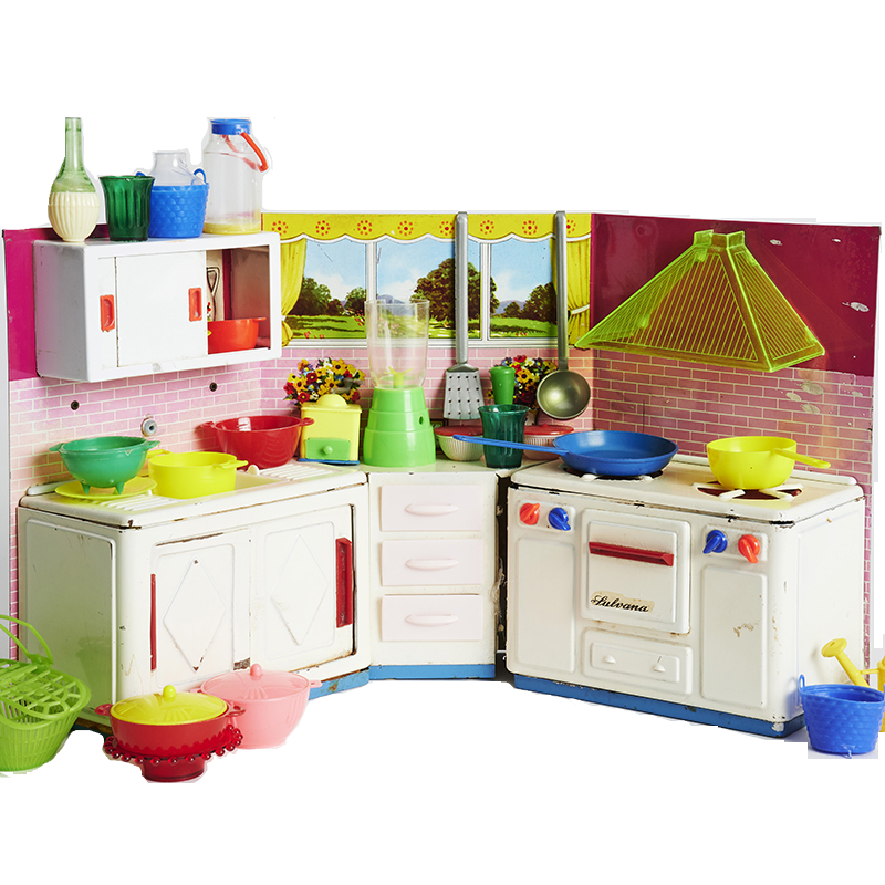 Midcentury Toy Kitchen