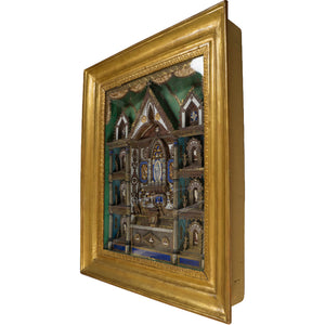 Diorama in Gilded Coeval Frame