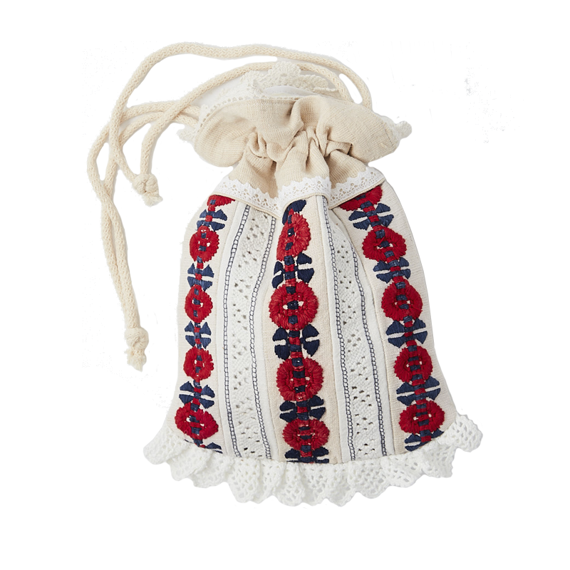 Hungarian embroidery bag