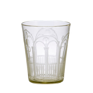 Antique Crystal Palazzo Glasses, Set of 6