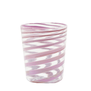 Load image into Gallery viewer, Giravolta Water Glass Purple