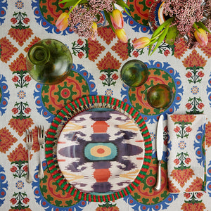 Load image into Gallery viewer, Ikat Dinner Plate