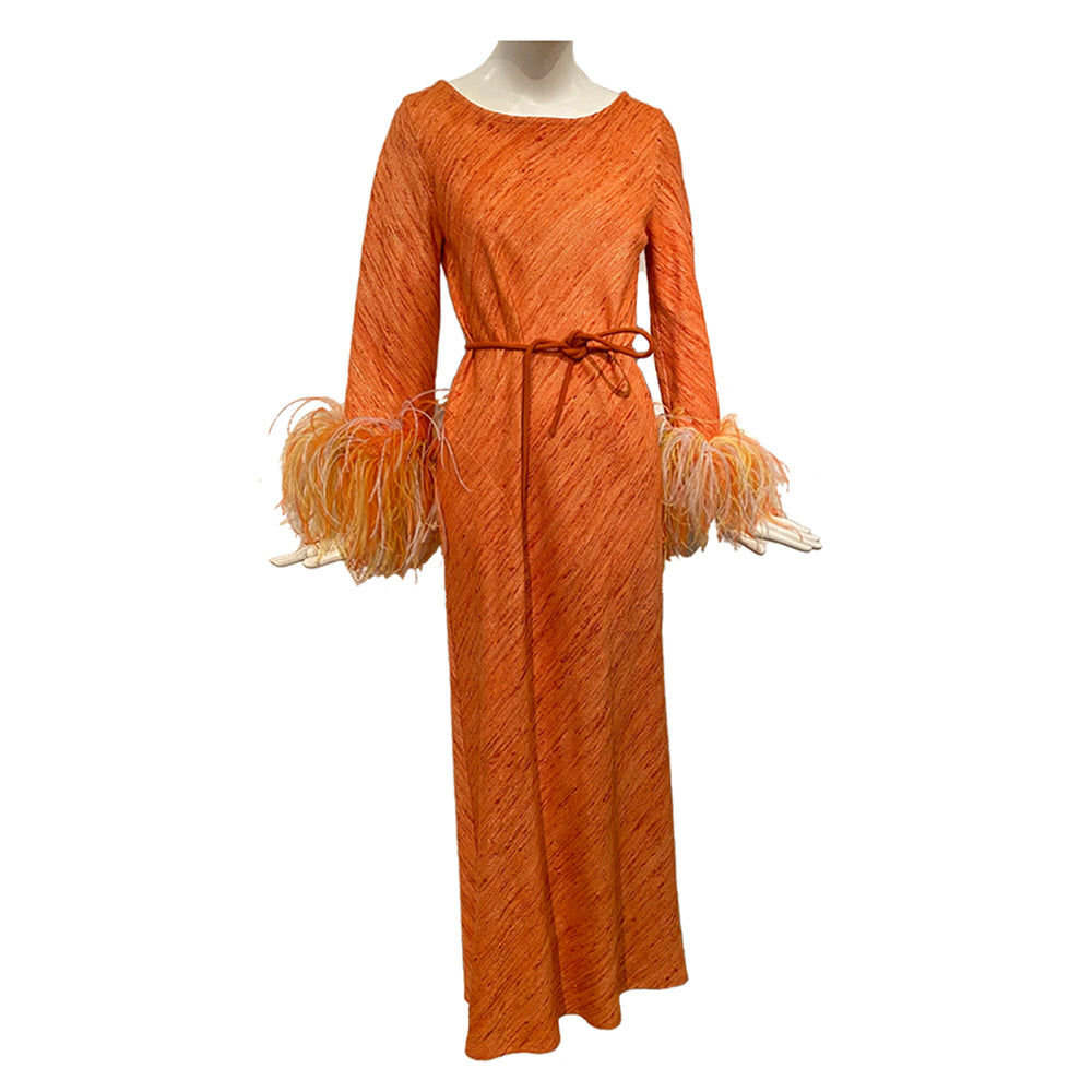 Antonia Dress Orange