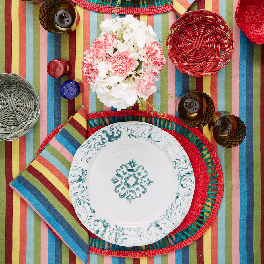 Rojo Oval Placemat