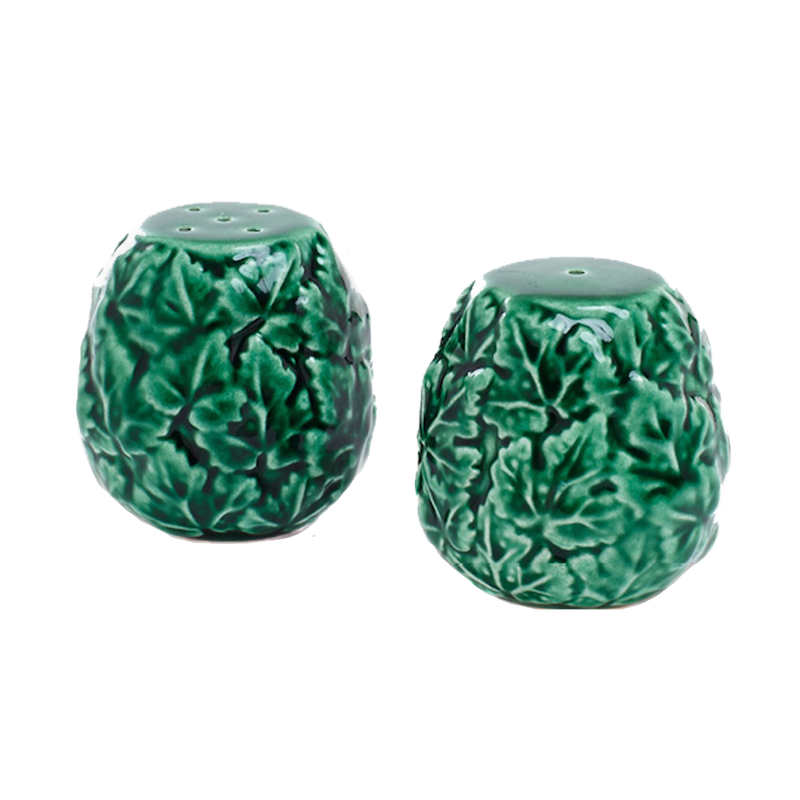 Vine Leaf Salt and Pepper Set