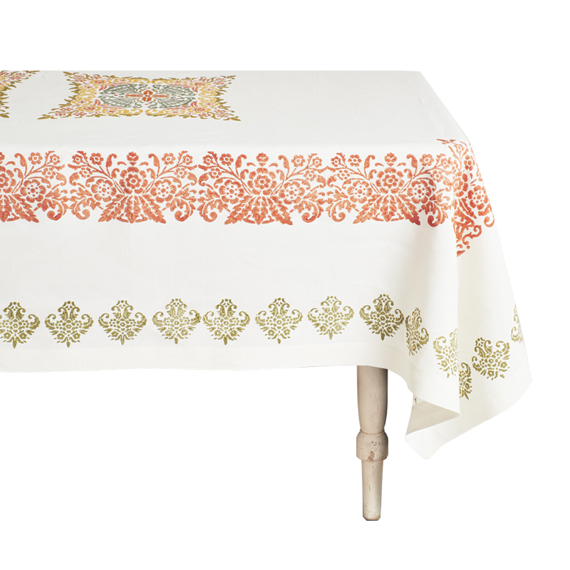 Mirandola Rectangular Linen Tablecloth