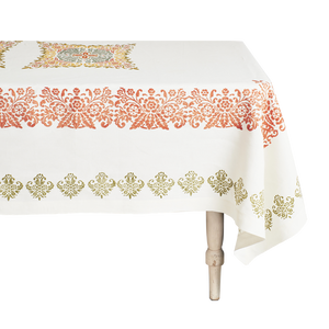 Load image into Gallery viewer, Mirandola Rectangular Linen Tablecloth
