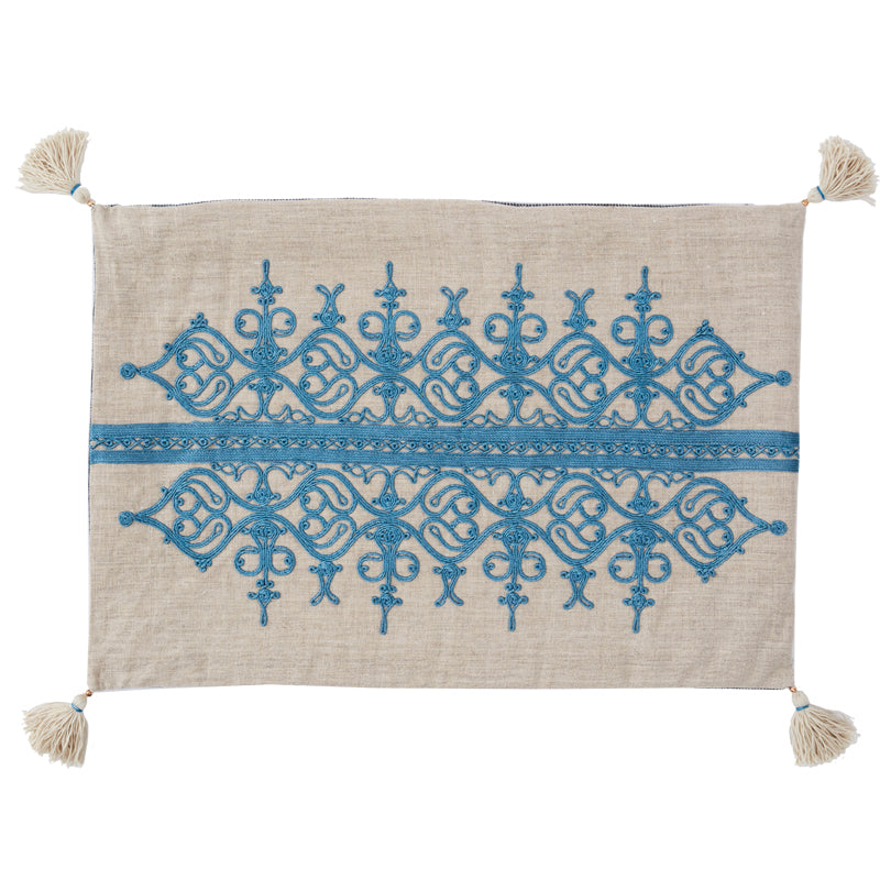 Mamlouk Cushion Cover Blue