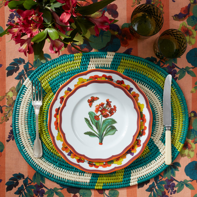 Zig Zag Bamboo Placemat