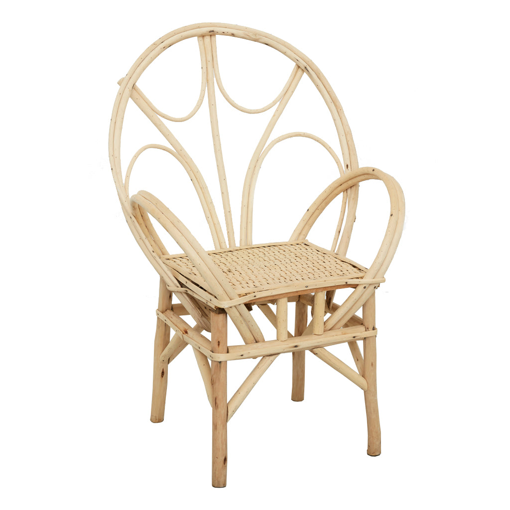 Natural Wicker Armchair