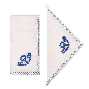 Load image into Gallery viewer, Goya Napkins Blue, Set of 4