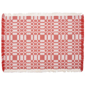 Lecce Placemat Red