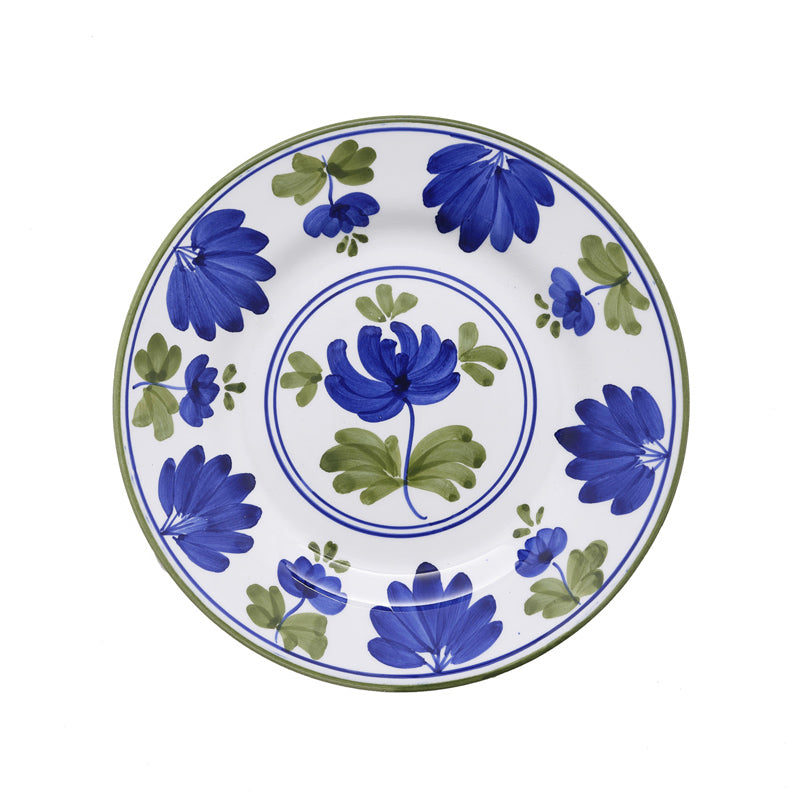 Load image into Gallery viewer, Blossom Dessert Plate Blue