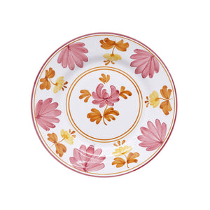 Load image into Gallery viewer, Blossom Dessert Plate Yellow