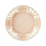 Raffia Bread Basket, Circle