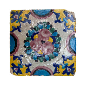 Load image into Gallery viewer, Decorative Tile 19th Century