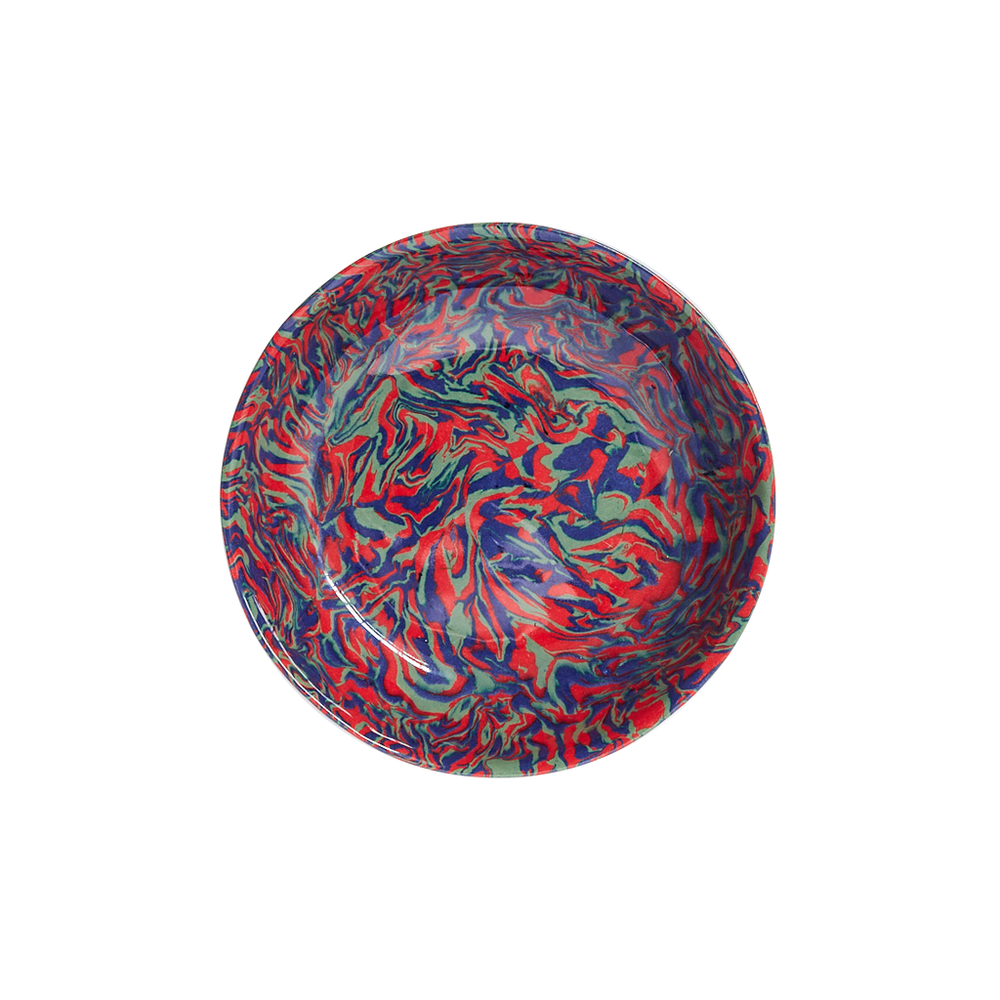 Load image into Gallery viewer, Marbleized Round Bowl
