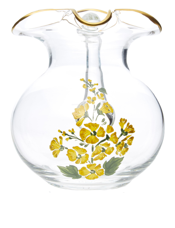 Load image into Gallery viewer, Murano Hand-Painted Jug