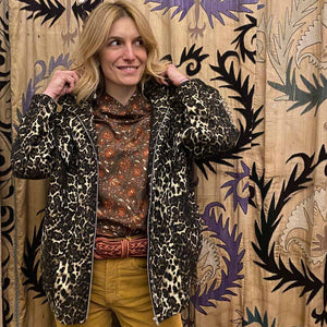 Load image into Gallery viewer, Prolo Leopard Jacket