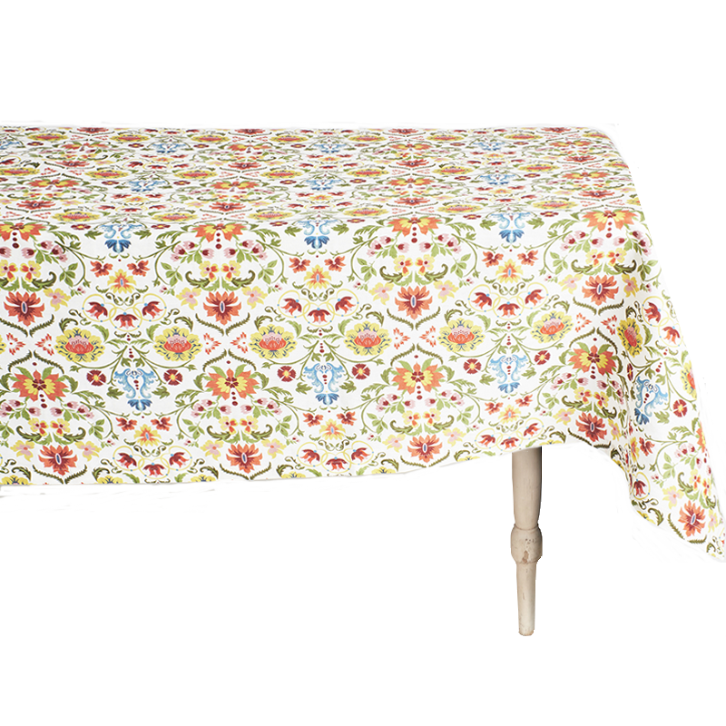 Rinascimento Square Linen Tablecloth