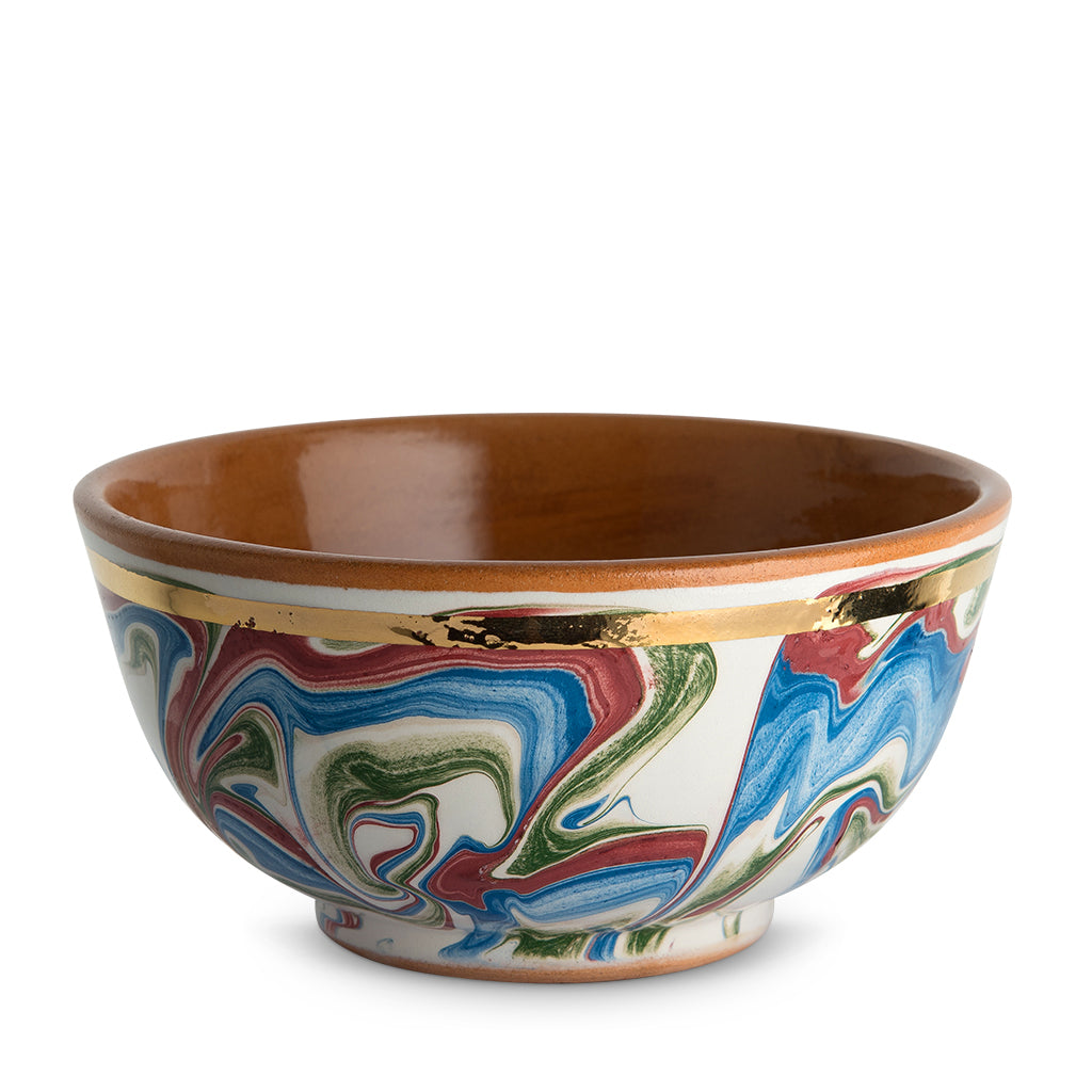 Dark Marbleized Small Bowl