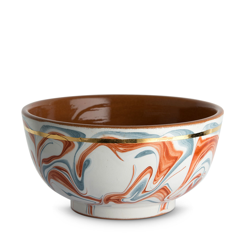 Light Marbleized Small Bowl