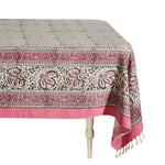 Ghalamkar Tablecloth Pink